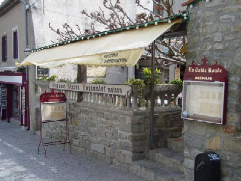 Restaurant groupes la table ronde carcassonne aude - Restaurant table ronde paris ...